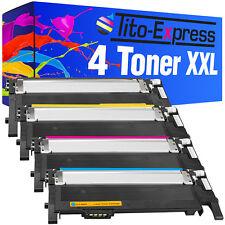 4 toner XXL ProSerie para Samsung clp-360 ND clp-365 W Xpress c410 W clt-406s