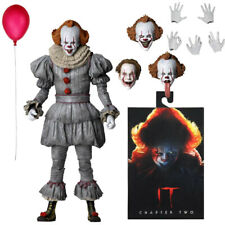 """NECA IT 2 Pennywise Clown Ultimate 7"""" Action Figure 1:12 Movie Doll 2019 New"""
