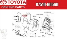Toyota LAND CRUISER Genuine Front Seat Back Heater ASSY RH 87510-60560 OEM Japan