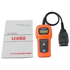 U480 OBD2 OBDII 2 CAN BUS Scan Diagnostic Tool Code Reader Engine Scanner OBD2