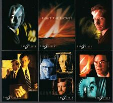 X-FILES FIGHT THE FUTURE MOVIE TOPPS 1998 COMPLETE 72 TRADING CARD BASE SET NM
