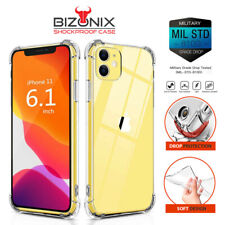 iPhone 12 11 Pro Max 6 7 8 Plus X XS XR case Shockproof Clear Cover Back Bumper