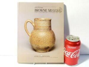 1985 Browne Mugs English Brown Stoneware Book by Robin Hildyard V&A Museum