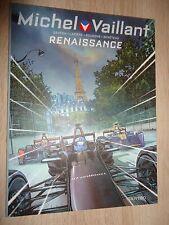 EO Michel Vaillant n° 5  Renaissance  de 2016 pub Renault