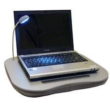 Espuma De Memoria Laptop Cojín Portable Lap Top Mesa Bandeja 5 Luz Led sostenedor de taza