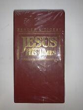 Readers Digest Jesus and His Time 3 VHS Set Vintage
