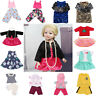 Doll Clothes Set Underwear Pants Pajama Dress Accessory for18inch American Girl