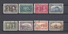 Canada 1908 SG 88/95 Utilisées Cat £ 375