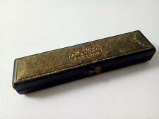 RARE Antique Victorian H M SMITH & Co DIP PEN WITH CASE  - 1880s
