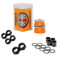 Independent Bushings Conical 90a with Dimebag Axle, Kingpin Nuts and Speed Kit