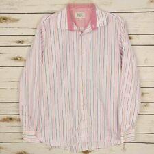 Ted Baker Men's Endurance Striped Button Up Shirt, Size 16