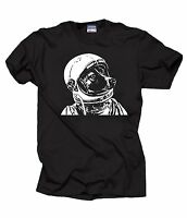 Space Dog Laika T-Shirt Funny Dog Astronaut Tee Shirt