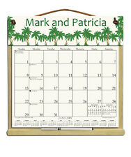 PERSONALIZED CALENDAR WITH 2018, 2019 & AN ORDER FORM FOR 2020 Palm Trees