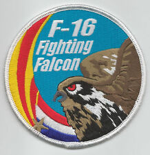 148th FIGHTER SQUADRON-DUTCH F-16 SWIRL patch