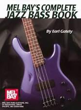 MEL BAY'S COMPLETE JAZZ BASS GUITAR BOOK NEW