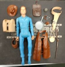 "Vintage 1970s Marx Quick-Draw"" Johnny West Figure w/ Accessories!"