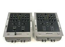 Set of 2 Numark M3 Dj Scratch Pro Audio Mixers