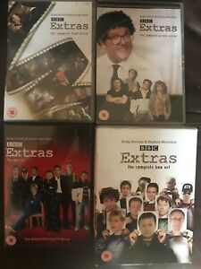 The Extras Series 1 2 & Christmas Special DVD Boxsets Choose From List