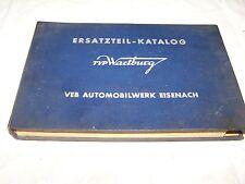 RDA Catálogo de piezas de repuesto para Wartburg 311 IFA