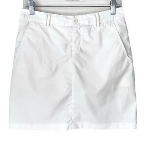 KJUS WOMEN'S Ida Golf Skort EU Size 36 US Small White Tournament Casual FREE SHP