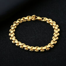 5f341431793e Fashion cute promise womens yellow Gold Filled Beading Bracelet jewelry