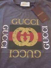 Gucci print t shirt grey XXL