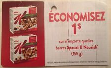 Lot of 20 x 1.00$ Special K' Nourish Products Coupons Canada