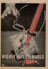 X-Ray Spex Highly Inflamable UK LP advert 1979