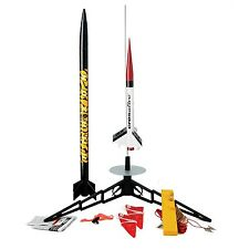 Estes TandemX Launch Rocket Set Model Kit Pack Easy Flying E2X Science Toy Gift