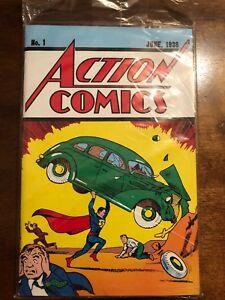DC Comics Acrion Comics No. 1 Authentic Reprint With Certificate Of Authenticity