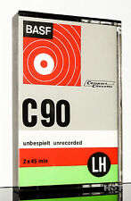 BASF LH C 90 grey aus 1972 collectors item MC Kassette tape cassette cassetta