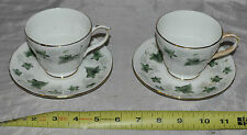 """IVY"" TEA CUP AND SAUCER DUCHESS FINE BONE CHINA MADE IN ENGLAND"