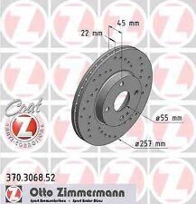 II NB 1.6 1.8 AVANT NA Revêtements de Mazda mx-5 I ZIMMERMANN Sport Disques De Frein