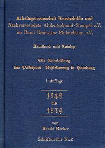 Harald Hacker, Paketpost Hamburg, Arge Brustschild, SRNr. 2, gebraucht, Leinen