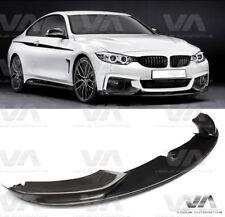 BMW 4 Série M Sport F32 F33 Performance Carbon Fiber Front Lip Spoiler Splitter