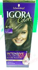 Schwarzkopf Igora Intensive Colour Cream Permanent Hair Colour 4-0 Medium Brown