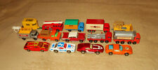 Vintage 60s/70s Matchbox Diecast Lot Very Nice Group Lesney Old Toy Cars