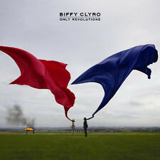 Biffy Clyro Only Revolutions Features Mountains Golden Rule Captain CD DVD