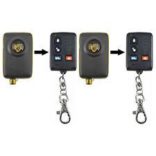 2 Fits 1993-1995 Jaguar XJS Replacement Remote Key Keyless Entry FOB Transmitter