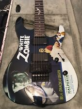 ESP LTD Kirk Hammett Signature White Zombie Electric Guitar NEW w/ Coffin Case
