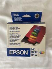 Epson S020191 S020089 Ink Cartridges Stylus Color 400 600 740 NIB Exp 10/2006