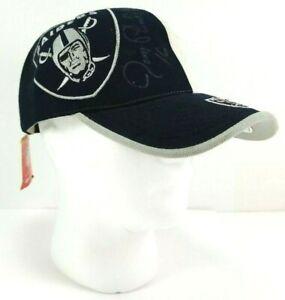 Jim Plunkett Autographed Reebok NFL Oakland Raider Cap Unworn Needs But Cleaning