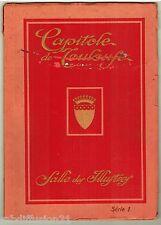 Fascicule Capitole de toulouse.salle des illustrés.série 1/cliché de R.Gaubert