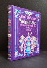 ALICE'S ADVENTURES in WONDERLAND and THROUGH the LOOKING GLASS (Leatherbound)