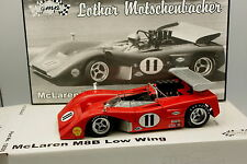 GMP 1/18 - McLaren M8B Low Wing No.18 Lothar