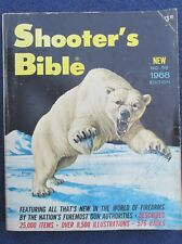 1968 Shooter's Bible No 59 Edition Stoeger 576 Pages VG