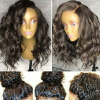 Silk Top Full Lace Human Hair Wig Pre Plucked Peruvian Virgin 360 Frontal Soft s