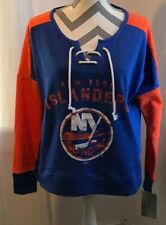 New York Islanders Womens Sweatshirt Small 4/6 Blue NHL NEW NWT
