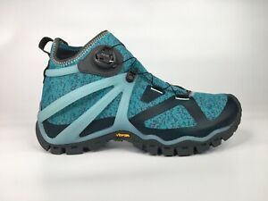 Merrell Womens Rove Sz 9.5 Knit Mid Top Speed Lace Hiking Boots J52648
