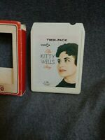 The KITTY WELLS Story~DECCA 8 Track Tape-spot tested!